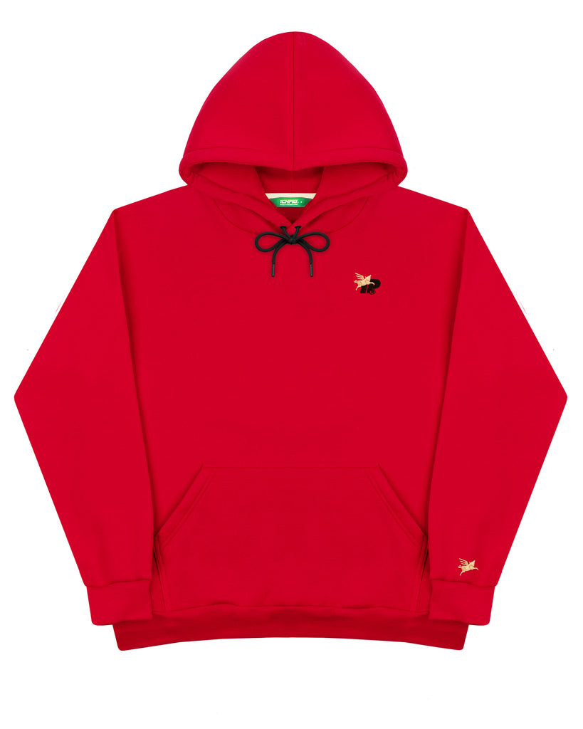 Pigasus Box90 Hood - Red