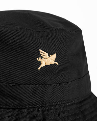 Pigasus Bucket Hat - Black