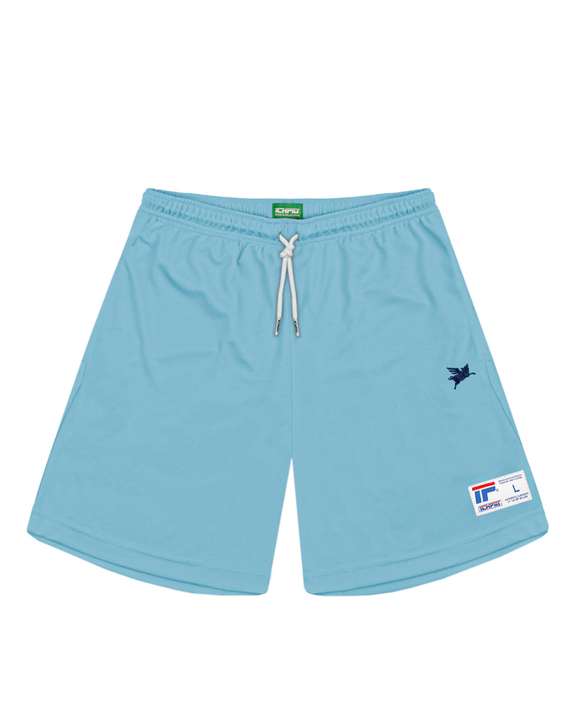 Pigasus Warm Up Shorts - Ice Blue