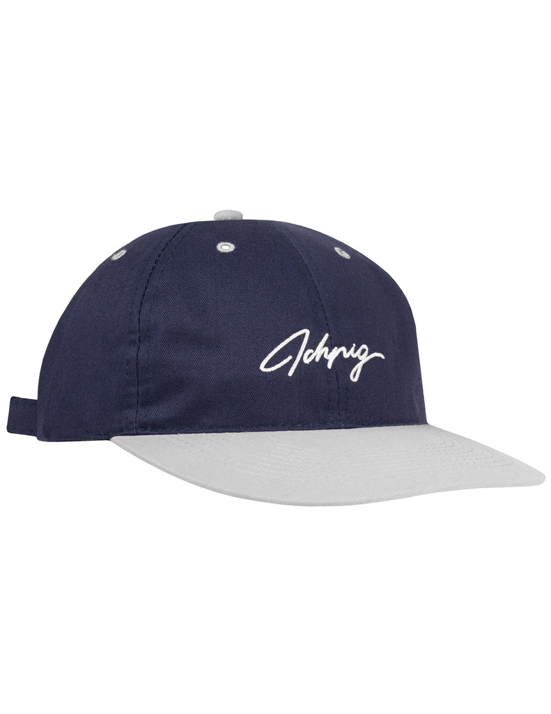 Pitchers Script Hat - Navy / White