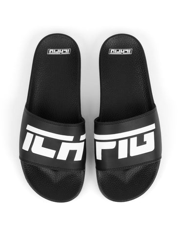 Strike Logo Slides - Black