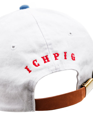 Team Field Hat - White / Blue