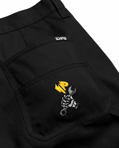 Workers Canvas Pants - Black