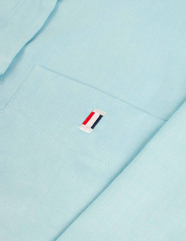 Flag Oxford Shirt - Mint