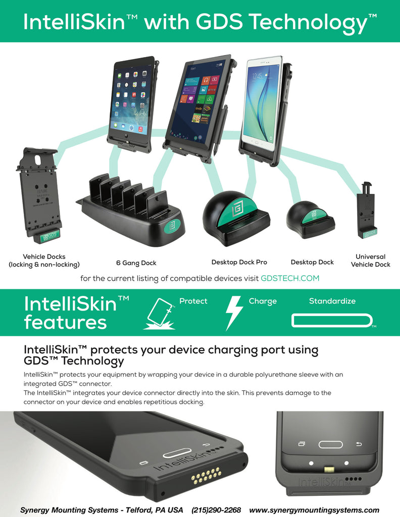 Protect - Charge - Standardize with IntelliSkin Products with GDS Technology