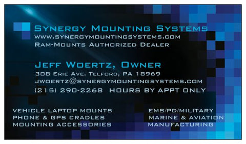 Jeff Woertz Business Card