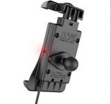 RAM-HOL-UN14WB-V7M RAM Quick-Grip™ Waterproof Wireless Charging Holder with Charger -  - RAM Mounts - Synergy Mounting Systems - RAM Mounts Authorized Dealer