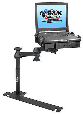 RAM-VB-129-SW1 RAM Laptop Mount Dodge Challenger, Charger, Magnum, Sprinter Van+-RAM Mounts - Synergy Mounting Systems