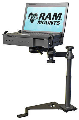 RAM-VB-195-SW1 RAM Mounts No-Drill Laptop Mount for the 2015 - 2017 Ford F-150 & Transit Connect-RAM Mounts - Synergy Mounting Systems