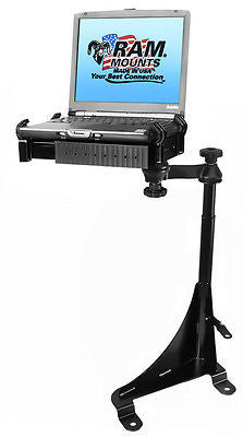 RAM-VB-143-SW1 RAM Mounts No-Drill Laptop Mount Chevy Express Van & GMC Savana -  - RAM Mounts - Synergy Mounting Systems - RAM Mounts Authorized Dealer