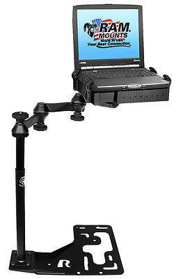 RAM-VB-168-SW1 Universal No-Drill Laptop Mount for Freightliner Trucks, Inter + -  - RAM Mounts - Synergy Mounting Systems - RAM Mounts Authorized Dealer