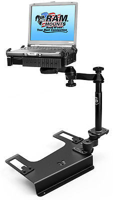 RAM-VB-193-SW1 RAM Mounts Laptop Mount Chevrolet Silverado 1500/2500/3500 -  - RAM Mounts - Synergy Mounting Systems - RAM Mounts Authorized Dealer