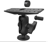 RAM-SG-D-111U-C RAM Mounts LARGE Pin-Lock™ Universal Marine Electronic Mount with Gimbal Knob