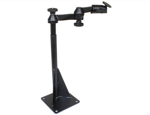 RAM-VBD-122-NT RAM Mounts Universal Drill-Down Base with Swing Arm -  - RAM Mounts - Synergy Mounting Systems - RAM Mounts Authorized Dealer