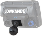 "RAM-202U-LO11 RAM Mounts Quick Release Adapter with C Size 1.5"" Ball for ""RUGGED USE"" Lowrance Elite-5, Mark-5, Hook-5 & Elite 7 Ti Fishfinders -  - RAM Mounts - Synergy Mounting Systems - RAM Mounts Authorized Dealer"