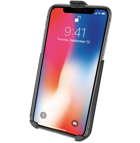 RAM-HOL-AP26U RAM Mounts Form-Fit Cradle for Apple iPhone XR -  - RAM Mounts - Synergy Mounting Systems - RAM Mounts Authorized Dealer