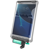 RAM-GDS-DOCKL-V2-SAM23U RAM GDS® Locking Vehicle Dock for Samsung Tab A 10.1 & with S Pen -  - RAM Mounts - Synergy Mounting Systems - RAM Mounts Authorized Dealer