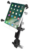 "RAM-B-400-C-UN8U RAM Mounts Small Tough-Claw™ Base with Long Double Socket Arm and Universal RAM® X-Grip® Cradle for 7""-8"" Tablets -  - RAM Mounts - Synergy Mounting Systems - RAM Mounts Authorized Dealer"