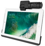 RAM-HOL-AP15CLU RAM EZ-Roll'r™ Combo Locking Holder for iPad 6th Gen, Air 2 + More -  - RAM Mounts - Synergy Mounting Systems - RAM Mounts Authorized Dealer