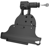 RAM-HOL-AP24KLU RAM EZ-Roll'r™ Keyed Locking Holder for iPad Pro 12.9 3rd Gen -  - RAM Mounts - Synergy Mounting Systems - RAM Mounts Authorized Dealer