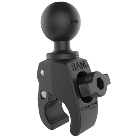 "RAP-400U RAM Mounts Small Tough-Claw with 1.5"" Diameter Rubber Ball -  - RAM Mounts - Synergy Mounting Systems - RAM Mounts Authorized Dealer"