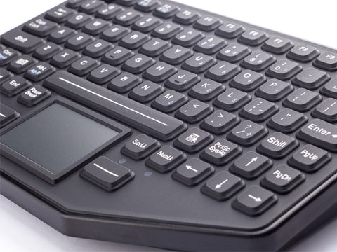 iKey SL-86-911-TP Rugged Backlit Mountable Keyboard with Touchpad (USB) -  - iKey - Synergy Mounting Systems - RAM Mounts Authorized Dealer