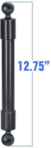 "RAP-BB-230-14U RAM Mounts 12.75"" Long Extension Pole w/1"" Diameter Ball On Each End-RAM Mounts - Synergy Mounting Systems"