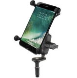 RAM-B-176-A-UN10U RAM Mounts X-Grip® Large Phone Mount with Motorcycle Fork Stem Base -  - RAM Mounts - Synergy Mounting Systems - RAM Mounts Authorized Dealer
