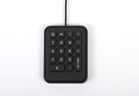 iKey IK-18-USB Mobile Backlit Numeric Pad/ Number Pad -  - iKey - Synergy Mounting Systems - RAM Mounts Authorized Dealer