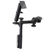 RAM-VB-181-WEST1  RAM Mounts Vertical Drill-Down Mount with Swing Arms and Double Ball Mount -  - RAM Mounts - Synergy Mounting Systems - RAM Mounts Authorized Dealer