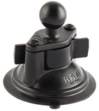 "RAM-B-224-1U RAM Mounts 3.3"" Diameter Suction Cup w/ 1"" Ball -  - RAM Mounts - Synergy Mounting Systems - RAM Mounts Authorized Dealer"