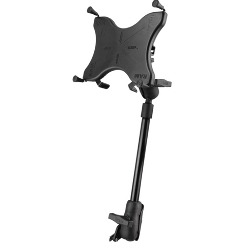 "RAM-238-WCT-9-UN9 RAM Mounts X-Grip® Wheelchair Seat Track Mount for 9""-10"" Tablets -  - RAM Mounts - Synergy Mounting Systems - RAM Mounts Authorized Dealer"