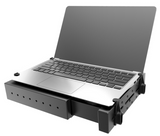 RAM-234-3FL RAM Mounts Universal Laptop Tough-Tray Holder w/ Flat Retaining Arms