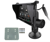 RAM-B-138B-GA66LU RAM Mounts Pin-Lock™ Mount with Backer Plate for Garmin Fleet 660/670 -  - RAM Mounts - Synergy Mounting Systems - RAM Mounts Authorized Dealer