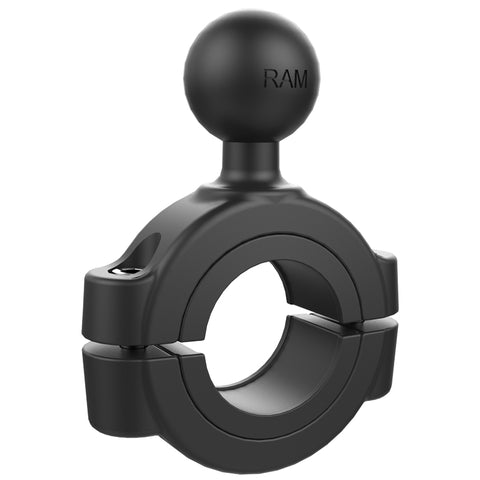 "RAM-B-408-112-15U RAM Mounts Torque 1 1/8"" - 1 1/2"" Diameter Handlebar/Rail Base with 1"" Ball -  - RAM Mounts - Synergy Mounting Systems - RAM Mounts Authorized Dealer"