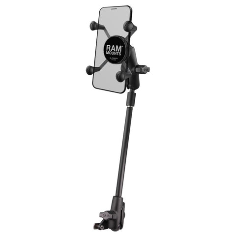 RAM-B-238-WCT-9-UN7 RAM Mounts Small X-Grip® Phone Mount for Wheelchair Seat Tracks
