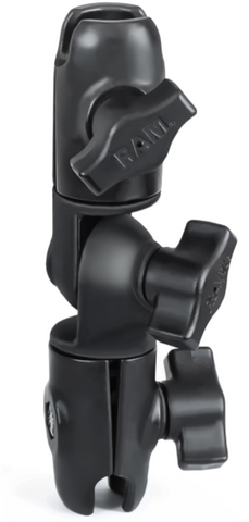 "RAP-B-200-2U RAM Mounts Double Socket Swivel Arm for 1"" Ball Bases -  - RAM Mounts - Synergy Mounting Systems - RAM Mounts Authorized Dealer"