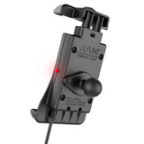 RAM-B-166-UN14W RAM Mounts Quick-Grip™ Waterproof Wireless Charging Suction Cup Mount -  - RAM Mounts - Synergy Mounting Systems - RAM Mounts Authorized Dealer