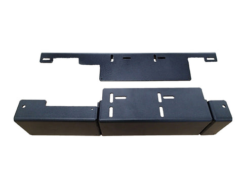 Havis C-B68 4-Piece Front and Rear Hump Mounting Bracket for 2015-2021 Ford Transit