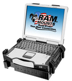 RAM-234-3 RAM Mounts Universal Laptop Tough-Tray Cradle-RAM Mounts - Synergy Mounting Systems