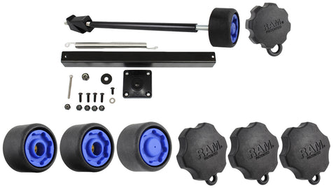 RAM-234-SKU RAM Mounts Security Pin-Lock Kit for RAM Complete Laptop Mounting Systems-RAM Mounts - Synergy Mounting Systems
