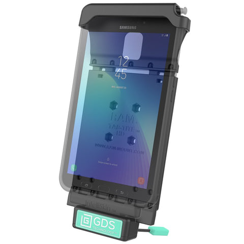 RAM-GDS-DOCK-V2-SAM29U RAM GDS® Vehicle Dock for the Samsung Galaxy Tab Active2 -  - RAM Mounts - Synergy Mounting Systems - RAM Mounts Authorized Dealer