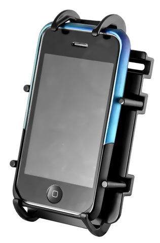 RAM-HOL-PD3U RAM Mounts Quick-Grip Spring Loaded Cradle for Cell Phones -  - RAM Mounts - Synergy Mounting Systems - RAM Mounts Authorized Dealer