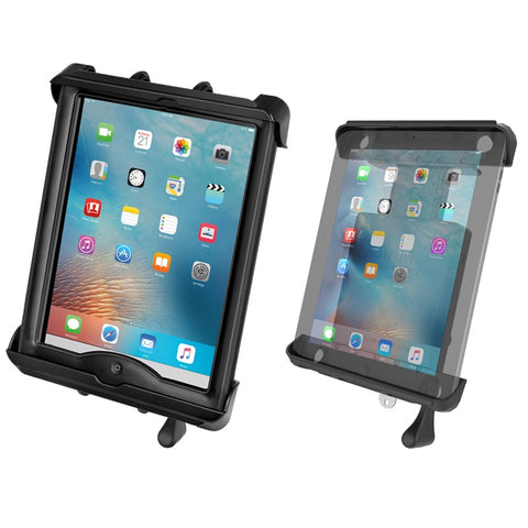 "RAM-HOL-TABL-LGU RAM Mounts Tab-Lock Locking Cradle for 10"" Screen Tablets including the Apple iPad 1-4 with LifeProof nüüd Cases & Lifedge Cases-RAM Mounts - Synergy Mounting Systems"