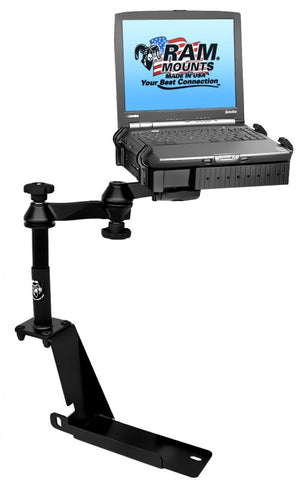 RAM-VB-112-SW1 RAM Mounts No-Drill Laptop Mount for OLDER Ford Explorer, Explorer Sport Trac & Mercury Mountaineer (SEE LIST) -  - RAM Mounts - Synergy Mounting Systems - RAM Mounts Authorized Dealer