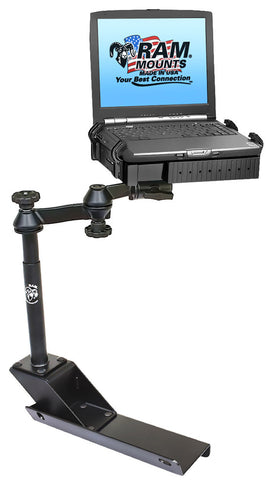 RAM-VB-116-SW1 RAM Mounts No-Drill Laptop Mount for '04-12 Chevy Colorado + MORE -  - RAM Mounts - Synergy Mounting Systems - RAM Mounts Authorized Dealer