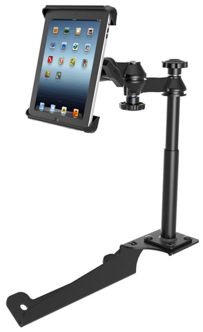 RAM-VB-185-TAB3 RAM Mounts No-Drill Vehicle Mount with Tab-Tite Cradle for the Apple iPad 1-4 -  - RAM Mounts - Synergy Mounting Systems - RAM Mounts Authorized Dealer