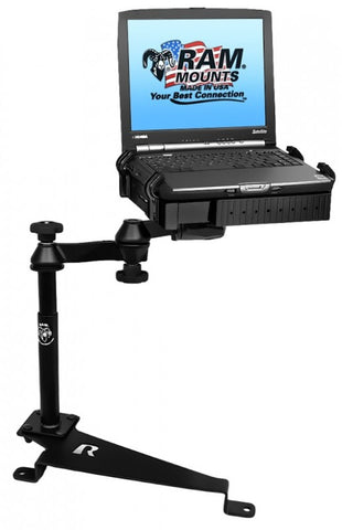RAM-VB-188-SW1 RAM Mounts No-Drill Laptop Mount for Ford Focus (2011-2016)-RAM Mounts - Synergy Mounting Systems