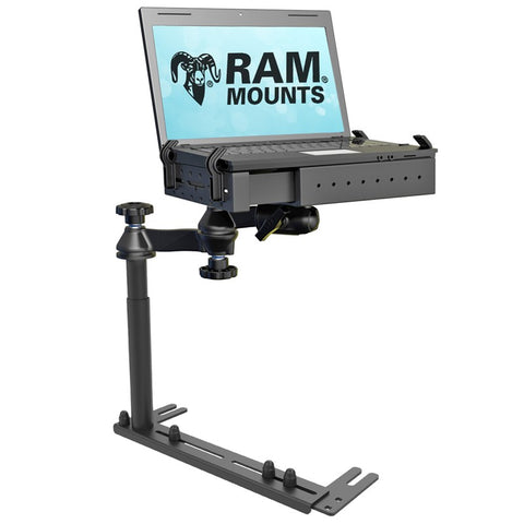 RAM-VB-196-1-SW1 RAM Mounts Reverse Configuration Universal No-Drill Laptop Mount -  - RAM Mounts - Synergy Mounting Systems - RAM Mounts Authorized Dealer