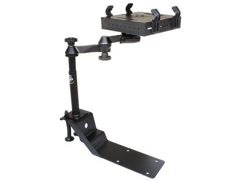 RAM-VBD-101-SW1 RAM Mounts RAM Universal Drill-Down Laptop Mount -  - RAM Mounts - Synergy Mounting Systems - RAM Mounts Authorized Dealer